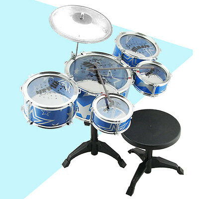 Classical Drum Set Percussion Instrument Musical Toy Puzzle for Children