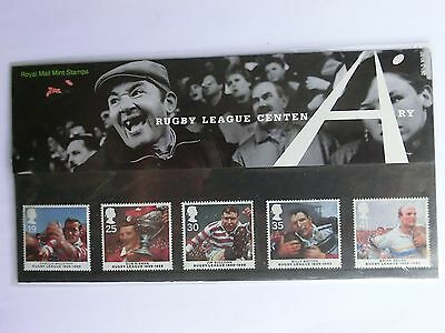 PRESENTATION PACK No 261  RUGBY LEAGUE CENTENARY EX CONDITION unfranked
