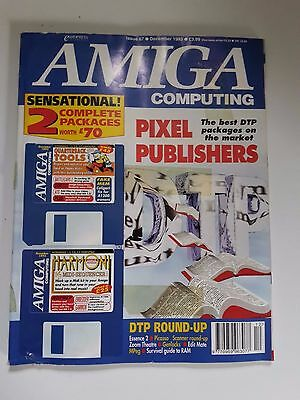 Amiga Computing Magazine Issue 67 - December 1993 - No Free Disc
