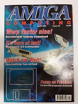 Amiga Computing Magazine Issue 35 - April 1991 - No Free Disc
