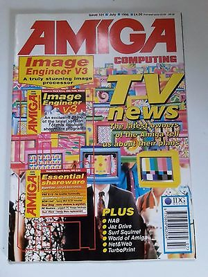 Amiga Computing Magazine Issue 101 - July 1996 - No Free Disc
