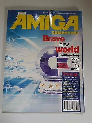 Amiga Computing Magazine Issue 73 - May 1994 - No Free Discs