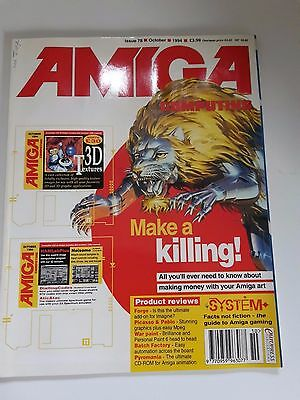 Amiga Computing Magazine Issue 78 - October 1994 - No Free Discs