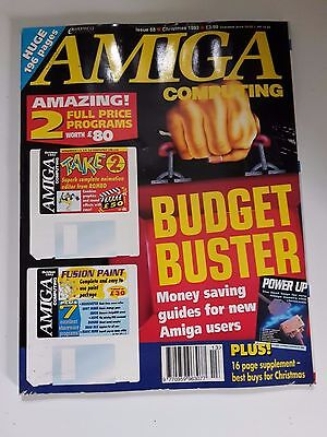 Amiga Computing Magazine Issue 68 - Christmas 1993 - No Free Disc