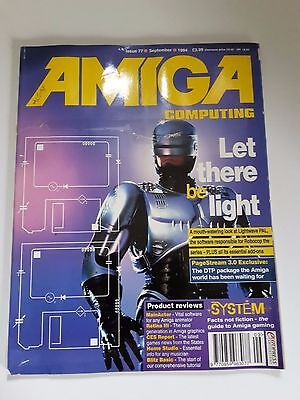 Amiga Computing Magazine Issue 77 - September 1994 - No Free Discs