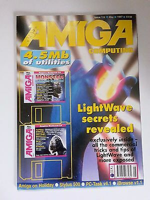 Amiga Computing Magazine Issue 112 - May 1997 - No Free Disc
