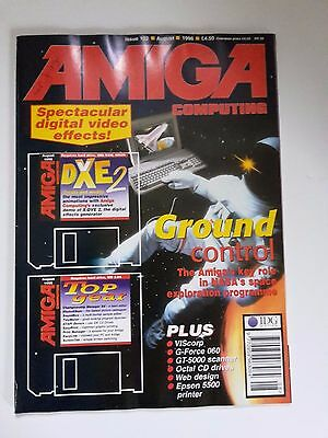 Amiga Computing Magazine Issue 102 - August 1996 - No Free Disc