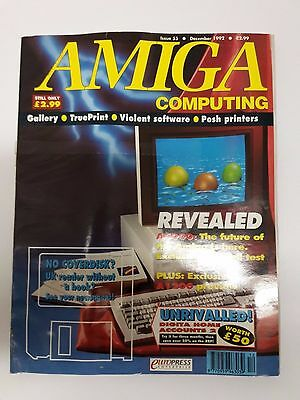 Amiga Computing Magazine Issue 55 - December 1992 - No Free Disc
