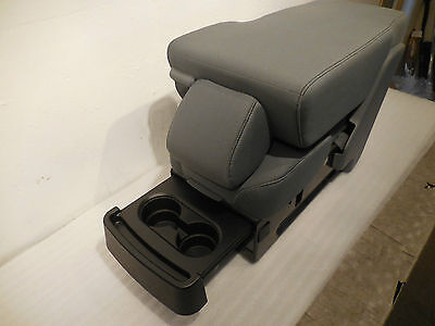 2009 - 2014 Ford F150 Center Jump Seat/console Gray Cloth Oem New! Nice!!!
