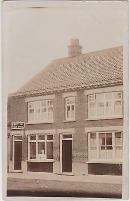 Rp Watton Post Office  , Norfolk  Real Photo Posted 1915