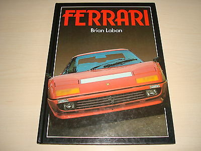 Ferrari By Brian Laban - Datiert 1984 Hardcover