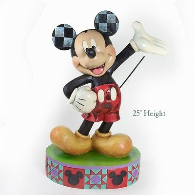 Jim Shore Mickey Mouse Disney Traditions 4037509 XL Garden Statue x Esterno