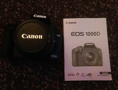 Canon EOS 1000D Digital Camera with EF-S 18-55 lens
