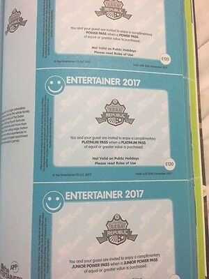 """Sega Republic Indoor Theme Park ** ENTERTAINER DUBAI 2017 ALL THREE VOUCHERS!"