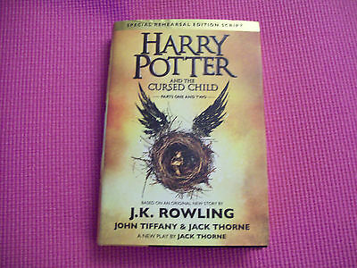 HARRY POTTER and the CURSED CHILD J.K. Rowling Hardcover