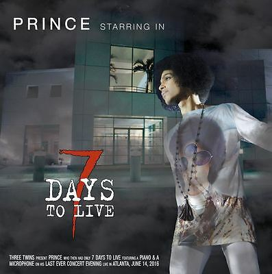 "Prince 2 Lp ""7 Days To Live"" Atlanta 2016, Gatefold, Colored Vinyls -L@@k! Rare!"