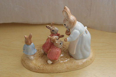 Beswick Ware Beatrix Potter MRS RABBIT AND THE FOUR BUNNIES