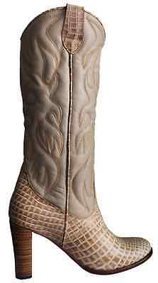 Femme chaussures bottes en cuir model Wikky size 33 to 44