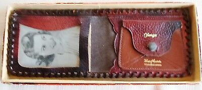 Leather Wallet, Souvenir of Miami FL.