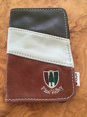 Pine Valley Golf Leather Yardage Book Holder by Iliac