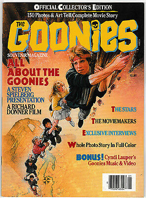 The Goonies Official Collectors Edition Souvenir Magazine VF 1985 Movie Film