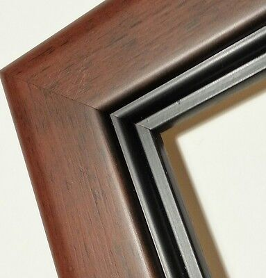 ☆SALE☆ 36 ft - Smokey Wood Picture Frame Moulding, Rounded Rectangle