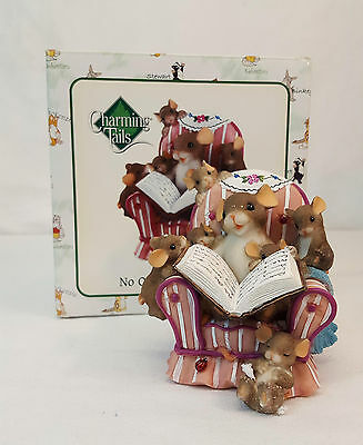 Charming Tails NO ONE TELLS IT LIKE YOU Mouse Reading Figurine #89/323 MINT