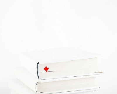 """Atelier Article - Gift Steel bookmark - Maple leaf (Red) - 7""""/17 cm long"""