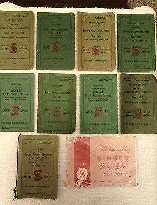 Singer sewing machine user manuals