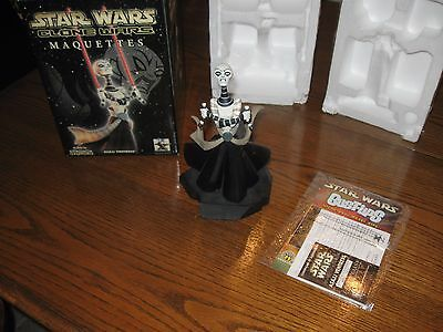 Star/Clone Wars Gentle Giant Maquette ASAJJ VENTRESS #1153/2500 limited edition