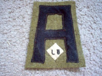 WWI US Army patch First 1st Army Quartermaster Labor Battalion Patch AEF