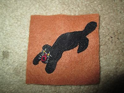 WWI US Army patch 300th Tank Battalion Tank Corps Patch AEF