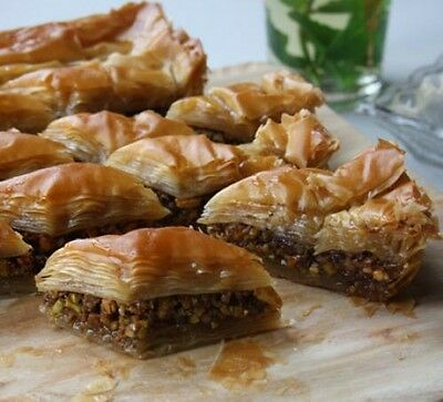 Nutty Baklava Recipe Wallpaper Penny 1p Auction No reserve