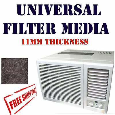 Wall / Window Room Air Conditioner Filter Universal AirCon 340 x 488 mm Size