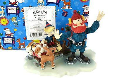 Enesco Rudolph Island of Misfit Toys Figure #875309 Good Friends Stick Together