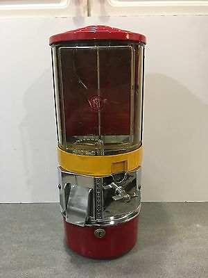 Vintage Vendorama 10 Cent Vending Gumball Toy Machine * No Key * Works