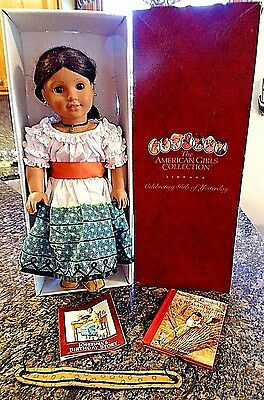 American Girl Doll  JOSEPHINA w/ Orig box & Feast Day Finery outfit & book