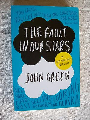 John Green ~ THE FAULT IN OUR STARS ~ 2012 MedPB VGC Combine & Save