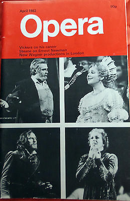 Opera Magazine,  April 1982, Wagner Productions In London
