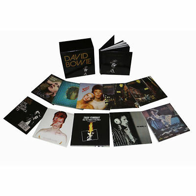 David Bowie Five Years 1969 - 1973 12 Cd Box Set Brand New Sealed