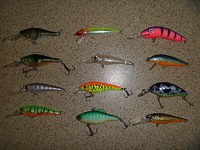 Assorted Bream/Trout lures, Lot 3