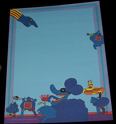 Blue Meanies small poster The Beatles Yellow Submarine