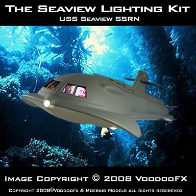 "Voyage to the Bottom of the Sea Seaview 39"" Lighting Kit 186VF01"