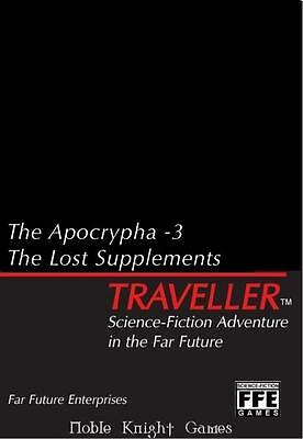 Far Future Ent Traveller Apocrypha #3, The - The Lost Supplements Box MINT