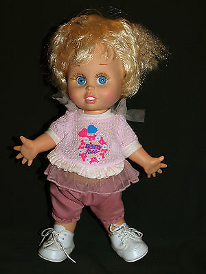 Galoob BABY FACE doll So Innocent Cynthia, medium blue eyes