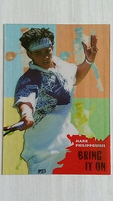 collectible mark philippoussis tennis card