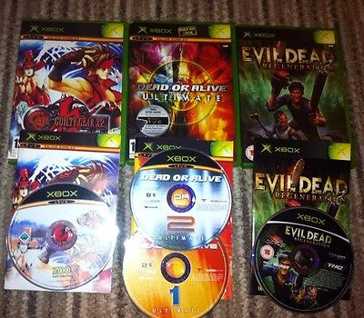 Xbox Original Games Bundle X 3 All Complete With Manuals Vgc