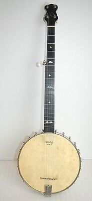 Antique c. 1890 Thompson & Odell 5 String Open Back Artist Banjo VG+ Condition