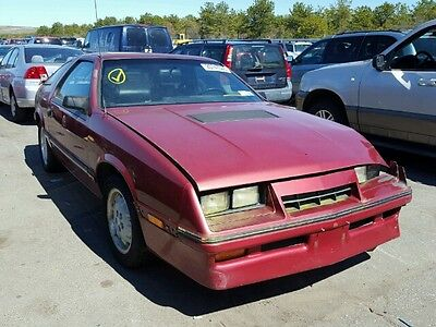 1986 Chrysler Other TURBO 1986 Classic Turbo Laser XL automatic