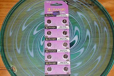 10 Pc's Watch Batteries  AG6  371,370 LR920 FREE SHIPPING in the USA